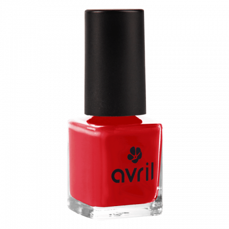 Ojă vegană 7 free Rouge Passion | Avril, 7 ml