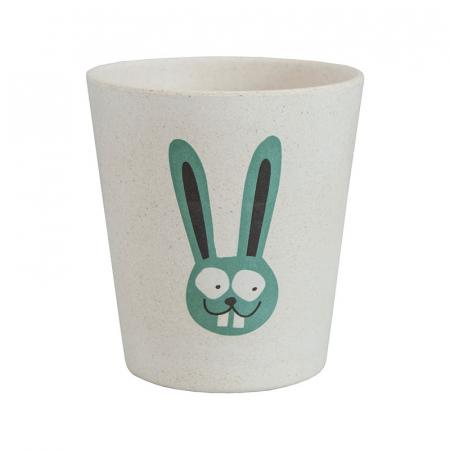 Pahar din bambus pentru clătire sau depozitare | Bunny, Jack N' Jill0
