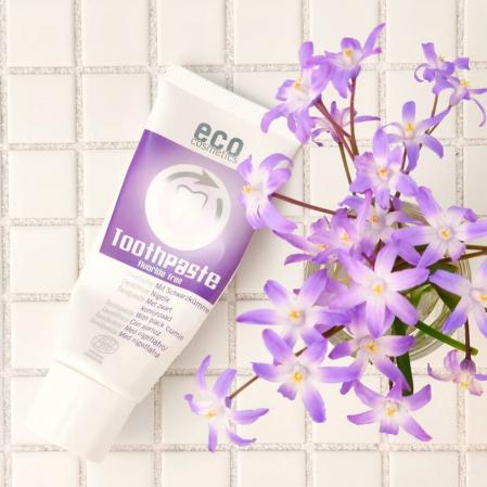 Pasta de dinti fara fluor, cu chimen negru, homeopata | Eco Cosmetics, 75ml1