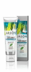 Pasta de dinti racoritoare cu cocos si eucalipt, Jason, 119g0