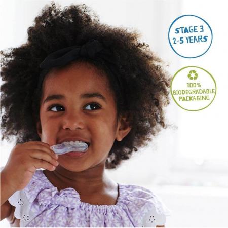Periuță din silicon pentru dinți și gingii Etapa 3 (2-5 ani) | Jack N' Jill [3]