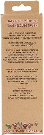 Periuță din silicon pentru dinți și gingii Etapa 3 (2-5 ani) | Jack N' Jill [2]