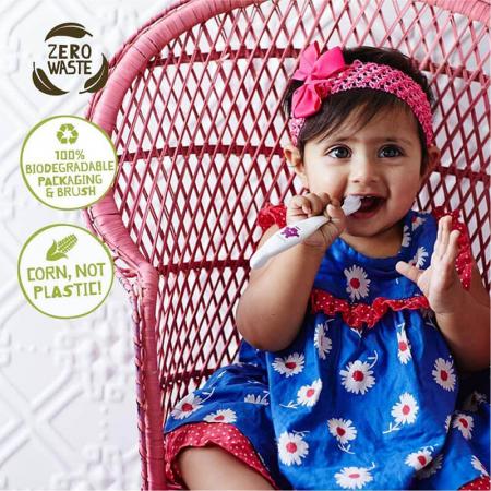 Periuță de dinți Eco pentru bebe și copii | Hippo, Jack N' Jill4