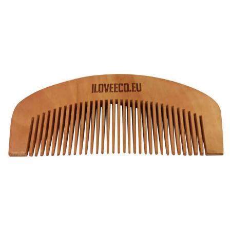 Pieptene din mahon pentru păr sau barbă | Iloveeco [1]