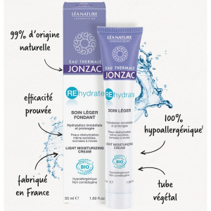 Cremă hidratantă ten normal-mixt REhydrate | Jonzac, 50ml4