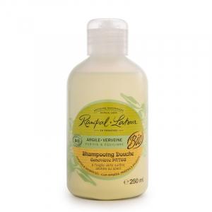 2 în 1 Șampon & gel duș bio Argilă și Verbină | Rampal Latour, 250ml0