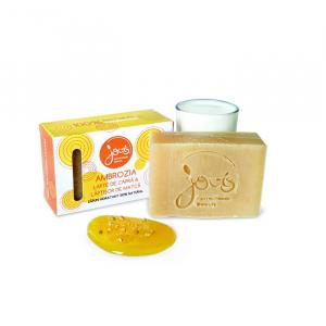 Sapun natural cu lapte de capra si laptisor de matca, Ambrozia, Jovis, 90g1