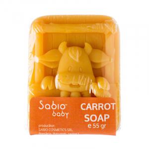 Sapun natural cu morcovi pentru bebelusi, Sabio Baby1
