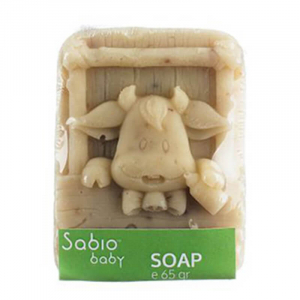 Sapun natural cu ovaz pentru bebelusi, Sabio Baby4