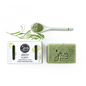 Sapun natural Green Poppy, Jovis, 100g0
