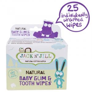 Servetele dinti si gingii pentru prevenirea cariilor de biberon, Jack n' Jill0