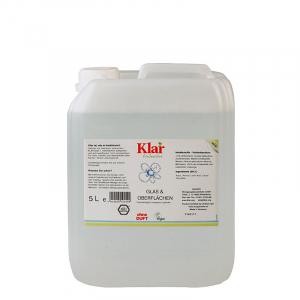 Solutie ecologica pentru geamuri si alte suprafete, fara parfum, Klar EcoSensitive, 500ml1