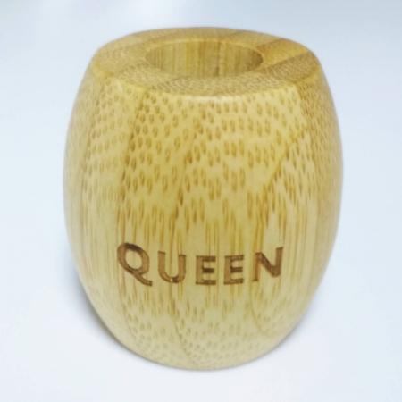 Suport pentru periuță de dinți ecologică, Queen  | Iloveeco1