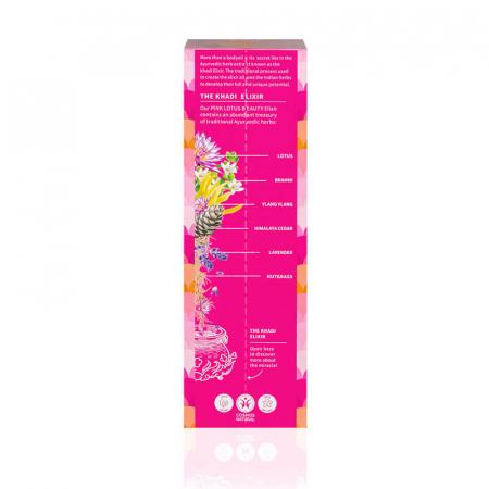 Ulei ayurvedic elixir Pink Lotus Beauty - Skin & Soul | Khadi, 100 ml [1]