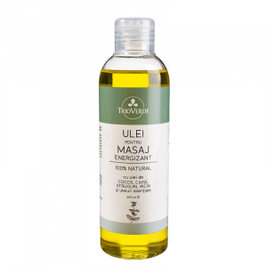 Ulei pentru masaj Energizant | Trio Verde, 200ml