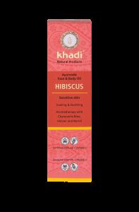 Ulei ayurvedic pentru ten și corp, Hibiscus, pentru piele sensibilă, Khadi, 100 ml0