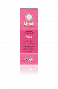 Ulei pentru ten si corp, Rose, pentru toate tipurile de ten, Khadi, 100ml1