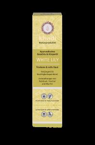 Ulei pentru ten si corp, White Lily, Khadi, pentru piele uscata si matura,100ml0