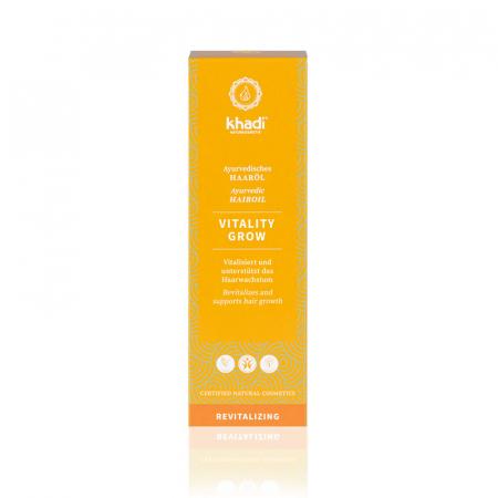 Ulei stimulare creștere păr, Vitality Grow | Khadi, 50 ml1