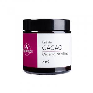 Unt de cacao organic, pellets, nerafinat | Trio Verde, 70g0