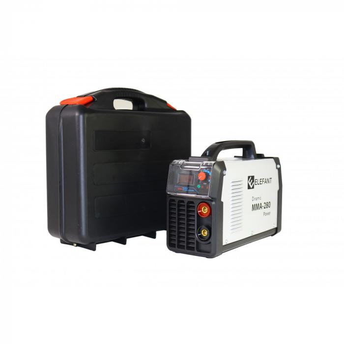 Aparat de sudura/ invertor Elefant MMA-280 , 280A, 1.6-5.0 mm, 220V, Accesorii incluse [2]
