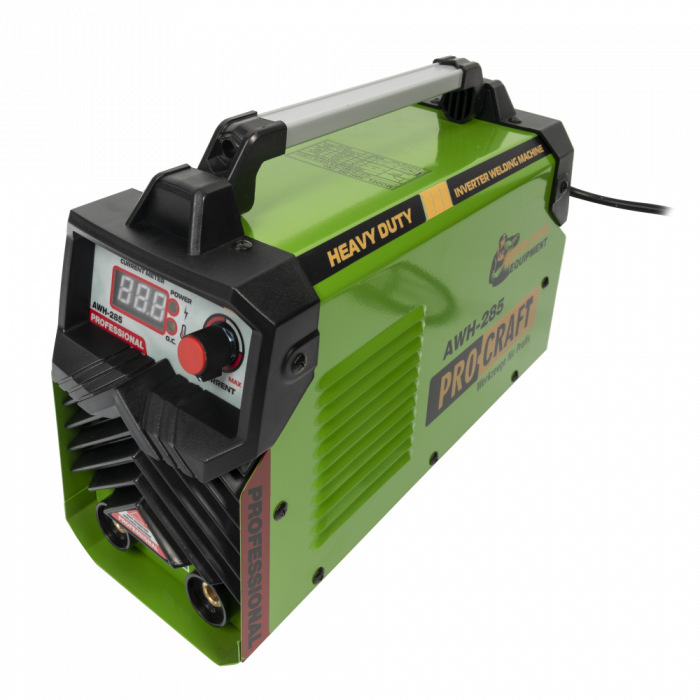 AWH285 invertor de sudura PROCRAFT,produsul contine taxa timbru verde 2.5 Ron, 4,5 kg [1]
