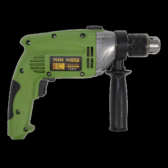 Bormasina cu percutie ProCraft PS1050, 1050W, 13mm, 2800rpm, produsul contine taxa timbru verde 2.5 Ron, 2.62 kg [3]