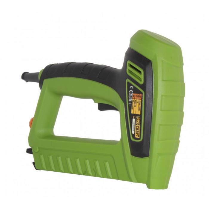 Capsator electric Procraft PEH50, pistol capse TYPE50, 5A, produsul contine taxa timbru verde 2.5 ron, 1.3 kg [1]