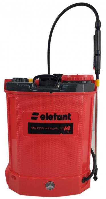 ELEFANT SE14L, Pompa de stropit cu acumulator [3]