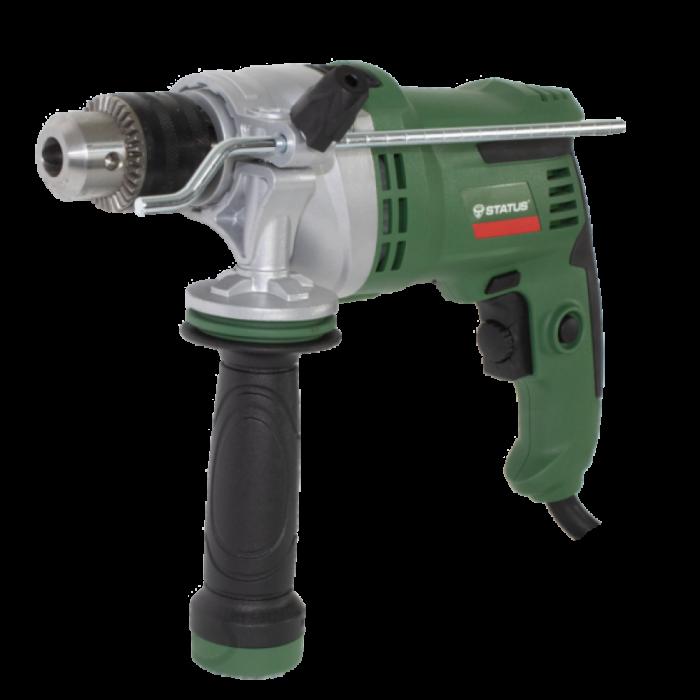 Masina de gaurit cu percutie STATUS DP750, 750W, 3000 RPM, Italia, produsul contine taxa timbru verde 2.5 Ron, 2.65 kg [0]