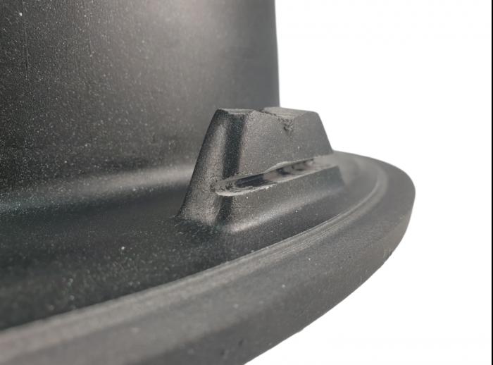 MIXXUS HB8310-G226 NEGRU, chiuveta ovala bucatarie granit [1]