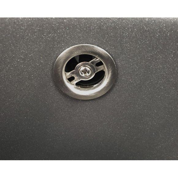 MIXXUS HB8311-G228 GRI, chiuveta ovala bucatarie granit [3]