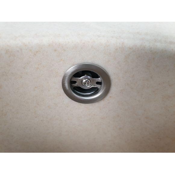 MIXXUS HB8311-G322 BEJ, chiuveta ovala bucatarie granit [2]