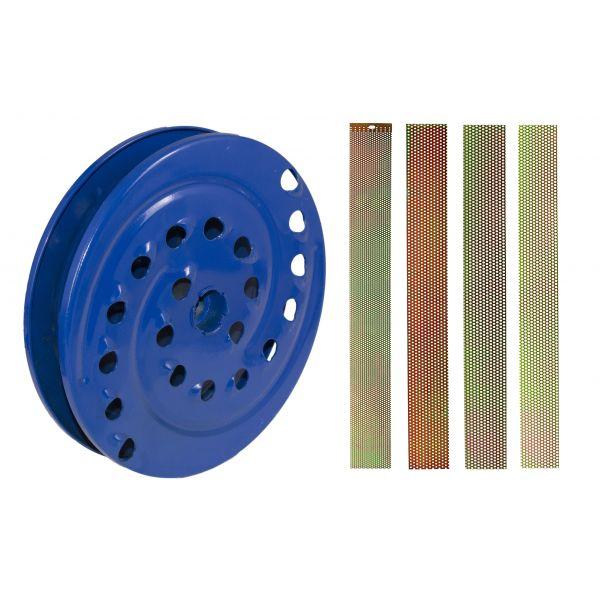 Moara de cereale/fructe Elefant CM1.1D, Uruitor electric 3.5 kW, 3000 rpm + site+razatoare [2]
