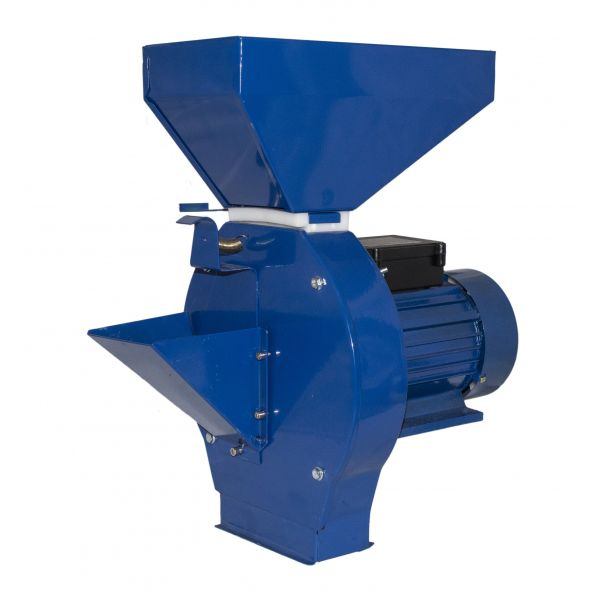 Moara de cereale/fructe Elefant CM1.1D, Uruitor electric 3.5 kW, 3000 rpm + site+razatoare [0]