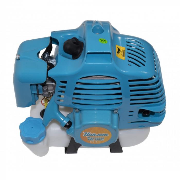 Motocoasa pe benzina Ciclon MK4400, 4400W, 52cc, Sistem complet de taiere, Accesorii [2]