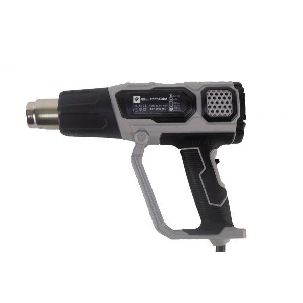 Pistol aer cald Elprom EFP-2500 cu Accesorii 2500W, 600 grade C, 3 Trepte [4]