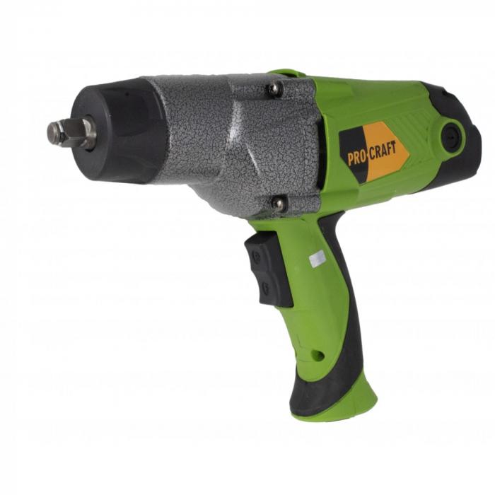Pistol electric cu impact, Procraft ES1650, 1650W, 450Nm, produsul contine timbru verde 2.5 Ron [1]