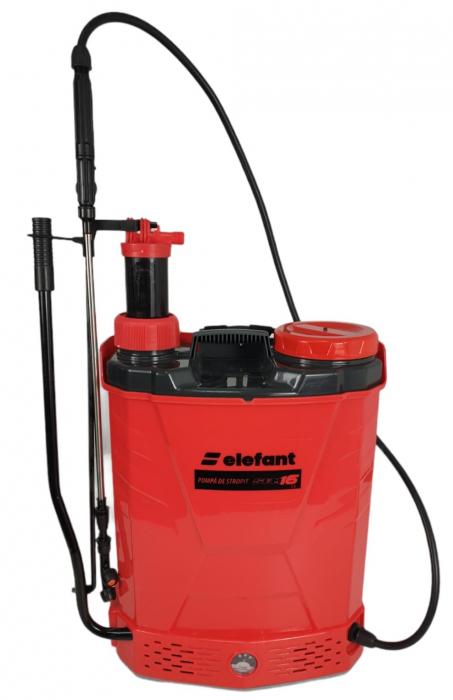 Pompa de stropit 2 in 1 ELEFANT, manuala si electrica [4]