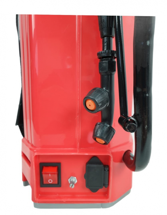Pompa de stropit 2 in 1 ELEFANT, manuala si electrica [3]