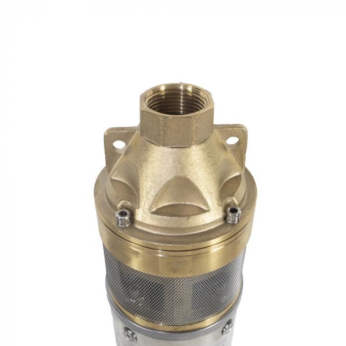 Pompa submersibila Kratos 4SKM-100, 0.75 CP, 41l/min, Turbina dubla, Cupru, produsul contine taxa timbru verde 2,5 Ron, 10 kg [1]