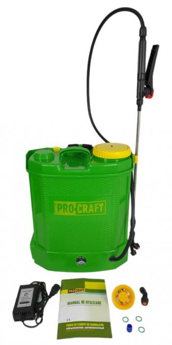 Pompa de stropit cu acumulator Procraft AS12L, 12 L, tija 80 cm [4]