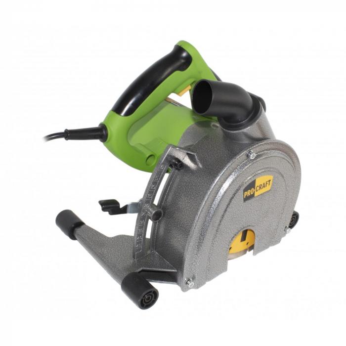 Masina canelat, PROCRAFT PM2500-230, 2500 W, 4500 rpm, diametru 150 mm [0]