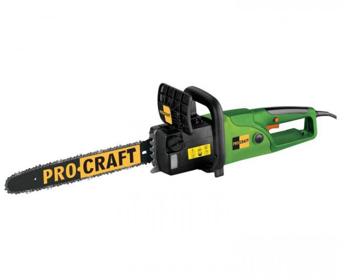 Drujba electrica PROCRAFT K2600, 2600W, lama 45cm [1]