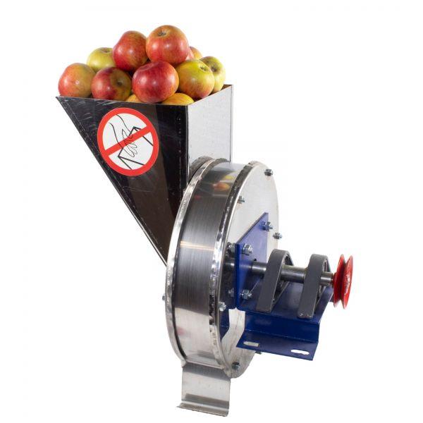 Razatoare fructe Vinita, manuala + fulie atasare motor, Tambur+cuva inox [3]