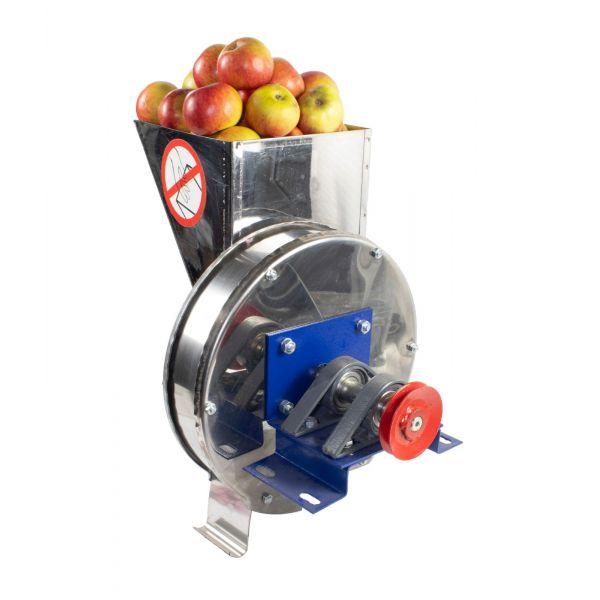 Razatoare fructe Vinita, manuala + fulie atasare motor, Tambur+cuva inox [1]