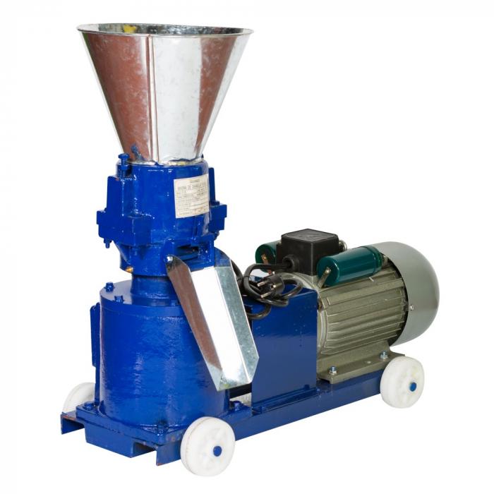 Granulator furaje TEMP SY-120 100Kg/Ora, 2.8KW, Presa Peleti cereale, produsul contine taxa timbru verde 6 Ron, 91 kg [0]