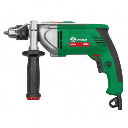 Bormasina cu percutie STATUS DP851, 850W, mandrina 13 mm, 2800 RPM, ITALIA, produsul contine taxa timbru verde 2.5 Ron [0]