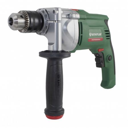 Bormasina cu percutie STATUS DP851, 850W, mandrina 13 mm, 2800 RPM, ITALIA, produsul contine taxa timbru verde 2.5 Ron [1]
