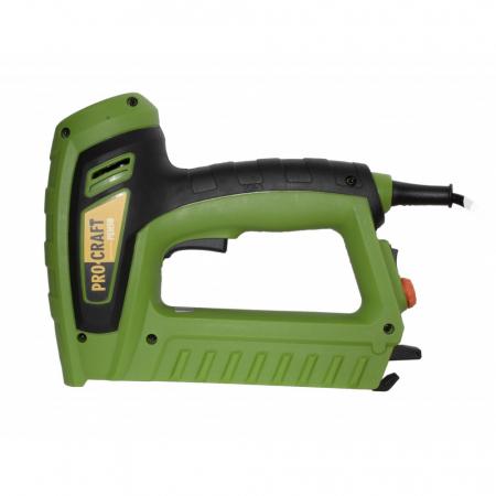 Capsator electric Procraft PEH50, pistol capse TYPE50, 5A, produsul contine taxa timbru verde 2.5 ron, 1.3 kg [3]